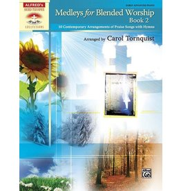 Alfred's Publishing - Sacred Performer, Medleys for Blended Worship, Book 2, Early Advanced