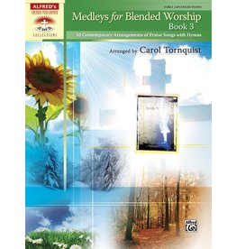Alfred's Publishing - Sacred Performer, Medleys for Blended Worship, Book 3, Early Advanced