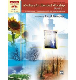 Alfred's Publishing - Sacred Performer, Medleys for Blended Worship, Book 1, Early Advanced