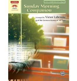 Alfred's Publishing - Sacred Performer, Sunday Morning Companion, 33 Hymns, Intermediate/Late Intermediate