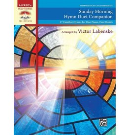 Alfred's Publishing - Sacred Performer, Sunday Morning Hymn Duet Companion, Intermediate/Late Intermediate