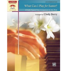 Alfred's Publishing - Sacred Performer, What Can I Play for Easter? (Late Intermediate)