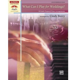 Alfred's Publishing - Sacred Performer, What Can I Play for Weddings? (Late Intermediate)