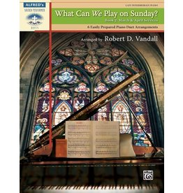 Alfred's Publishing - Sacred Performer, What Can We Play on Sunday?, Book 3 (Late Intermediate Duet)