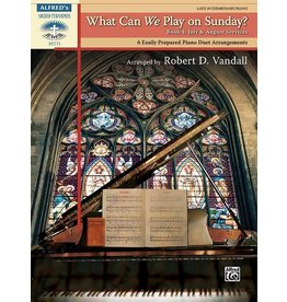 Alfred's Publishing - Sacred Performer, What Can We Play on Sunday?, Book 4 (Late Intermediate Duet)