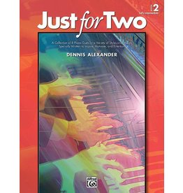 Alfred's Publishing - Just for Two, Duet Book 2 (Early Intermediate)