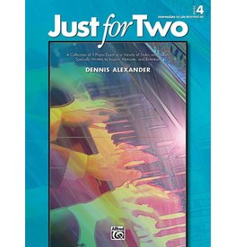 Alfred's Publishing - Just for Two, Duet Book 4 (Late Intermediate)
