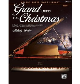 Alfred's Publishing - Grand Duets for Christmas, Book 4