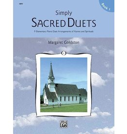 Alfred's Publishing - Simply Sacred Duets, Book 1