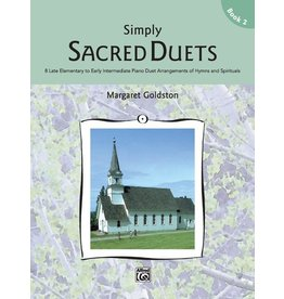 Alfred's Publishing - Simply Sacred Duets, Book 2