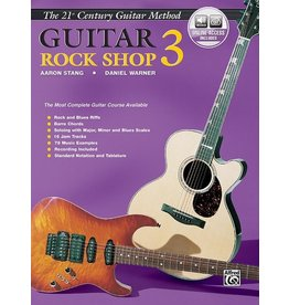 Alfred's Publishing - The 21st Century Guitar Method, Rock Shop 3 w/CD