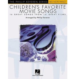 Hal Leonard - Phillip Keveren Series, Children's Favourite Movie Songs