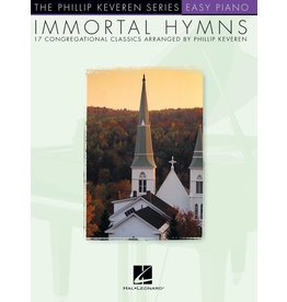 Hal Leonard - Phillip Keveren Series, Immortal Hymns, Easy Piano
