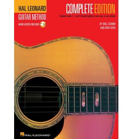 Hal Leonard - Guitar Method, Complete Edition, Level 1, 2 and 3, w/CD