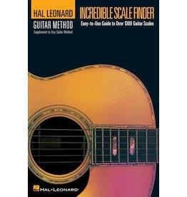 Hal Leonard - Guitar Method, Incredible Scale Finder