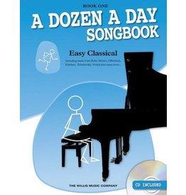 Hal Leonard - A Dozen a Day Easy Classical Songbook, Book 1