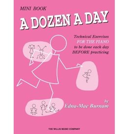 Hal Leonard - A Dozen a Day Mini Book
