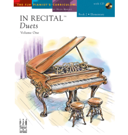 - In Recital, Duets Book 2 w/online audio
