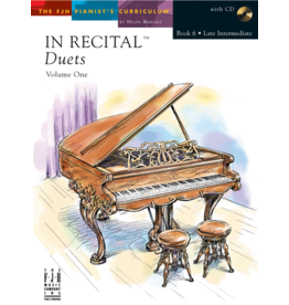 - In Recital, Duets Book 6 w/online audio