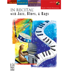 - In Recital, Jazz Blues & Rags, Book 1 w/CD