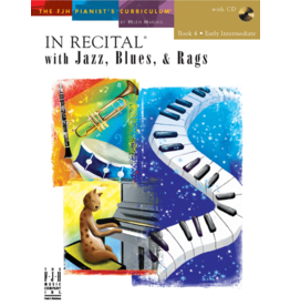 - In Recital, Jazz Blues & Rags, Book 4 w/online audio