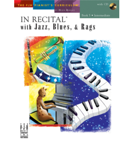 - In Recital, Jazz Blues & Rags, Book 5 w/online audio