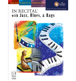 - In Recital, Jazz Blues & Rags, Book 6 w/online audio