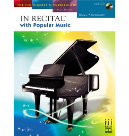 - In Recital, Popular Music Book 2 w/CD