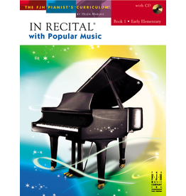 - In Recital, Popular Music Book 1 w/CD