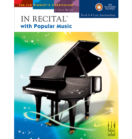 - In Recital, Popular Music Book 6 w/CD