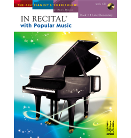 - In Recital, Popular Music Book 3 w/CD