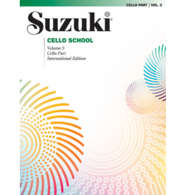 - Cello School, Volume 3, Cello Part
