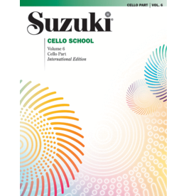 - Cello School, Volume 6, Cello Part