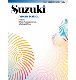 - Violin School, Volume 4 - Piano Accompaniments (Revised)