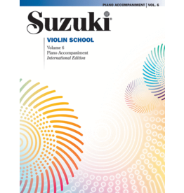 - Violin School, Volume 6 - Piano Accompaniments (Revised)