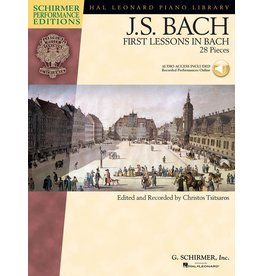 Hal Leonard - Schirmer Edition, Bach, First Lessons In Bach, Book & CD
