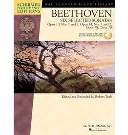 Hal Leonard - Schirmer Edition, Beethoven - Six Selected Sonatas, Book & CD