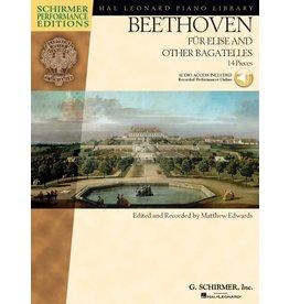 Hal Leonard - Schirmer Edition, Beethoven, Fur Elise and Other Bagatelles, Book & CD