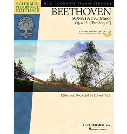Hal Leonard - Schirmer Edition, Beethoven, Sonata in C Minor, Opus 13, Book & CD