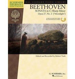 Hal Leonard - Schirmer Edition, Beethoven, Sonata in C-sharp Minor, Opus 27, Book & CD