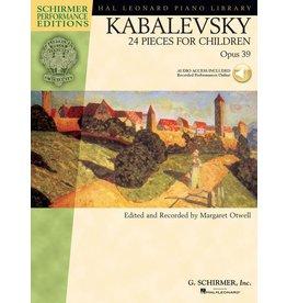Hal Leonard - Schirmer Edition, Kabalevsky, 24 Pieces for Children, Opus 39, Book & CD