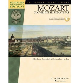 Hal Leonard - Schirmer Edition, Mozart, Six Viennes Sonatinas, Book & CD