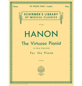 Hal Leonard - Schirmer's Library of Musical Classics, The Virtuoso Pianist in 60 Exercise, Complete