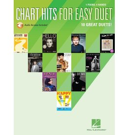 Hal Leonard - Chart Hits For Easy Duet