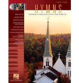 Hal Leonard - Hymns, Piano Duet Play-Along