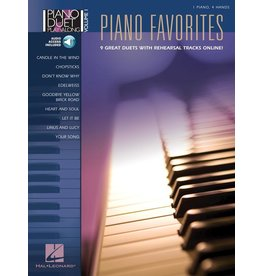 Hal Leonard - Piano Favorites, Piano Duet Play-Along
