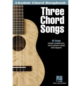 Hal Leonard - Three Chord Songs, Ukulele Chord Songbook