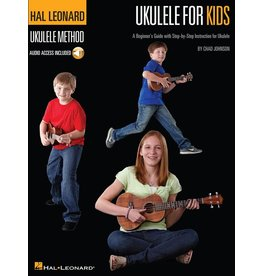 Hal Leonard - Ukulele for Kids, book w/online audio