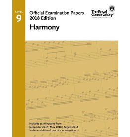 Frederick Harris - 2018 Examination Papers, Level 9 Harmony
