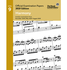Frederick Harris - 2019 Examination Papers, Level 9 Harmony
